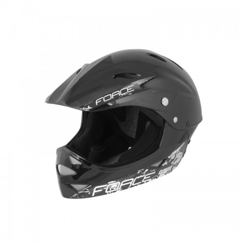 Force Downhill Junior negru S-M