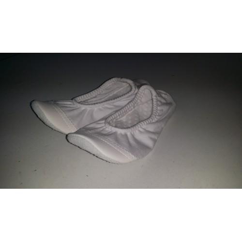 Opincuțe balet alb/negru