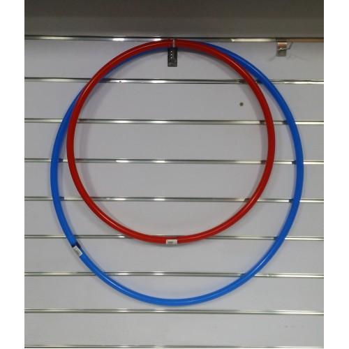 Cerc gimnastică 50cm roșu