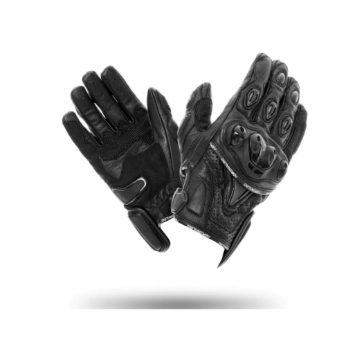 Manusi moto piele Adrenaline Opium 2.0, negru, marime XL