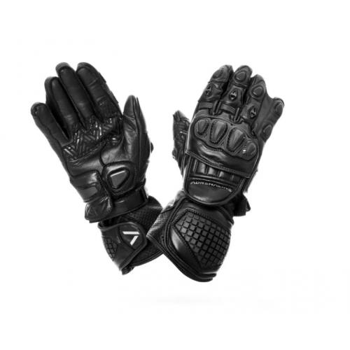Manusi moto piele Adrenaline Lynx, negru, marime M