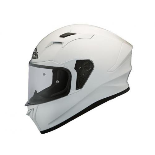 Casca moto SMK Twister, alb